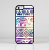 The Tie Dyed Aztec Elephant Pattern Skin-Sert for the Apple iPhone 5c Skin-Sert Case