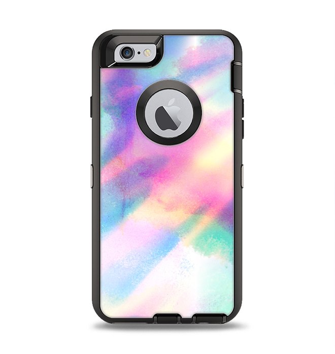 another chance c6787 12183 The Tie Dyed Bright Texture Apple iPhone 6 Otterbox Defender Case Skin Set