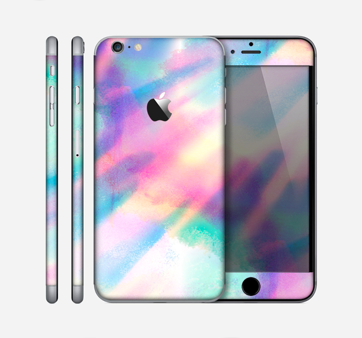 The Tie Dyed Bright Texture Skin for the Apple iPhone 6 Plus