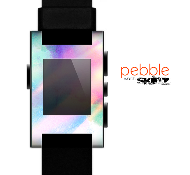 The Tie Dyed Bright  Skin for the Pebble SmartWatch