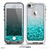 The Aqua Blue & Silver Glimmer Fade Skin for the iPhone 5-5s Fre LifeProof Case