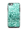 The Aqua Green Glimmer Apple iPhone 6 Plus Otterbox Symmetry Case Skin Set