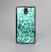 The Aqua Green Glimmer Skin-Sert Case for the Samsung Galaxy Note 3