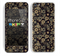 The Tiny Gold Floral Sprockets Skin for the Apple iPhone 5c