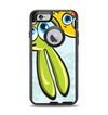 The Toon Green Rabbit and Yellow Chicken Apple iPhone 6 Otterbox Defender Case Skin Set