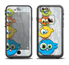 The Tower of Highlighted Cartoon Birds Apple iPhone 6 LifeProof Fre Case Skin Set