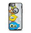 The Tower of Highlighted Cartoon Birds Apple iPhone 6 Otterbox Defender Case Skin Set