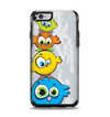 The Tower of Highlighted Cartoon Birds Apple iPhone 6 Otterbox Symmetry Case Skin Set