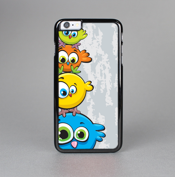 The Tower of Highlighted Cartoon Birds Skin-Sert Case for the Apple iPhone 6 Plus