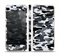 The Traditional Black & White Camo Skin Set for the Apple iPhone 5s