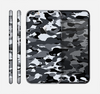 The Traditional Black & White Camo Skin for the Apple iPhone 6