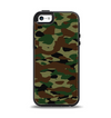 The Traditional Camouflage Apple iPhone 5-5s Otterbox Symmetry Case Skin Set