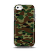 The Traditional Camouflage Apple iPhone 5c Otterbox Symmetry Case Skin Set