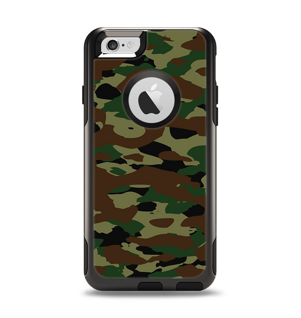 The Traditional Camouflage Apple iPhone 6 Otterbox Commuter Case Skin Set