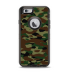 The Traditional Camouflage Apple iPhone 6 Otterbox Defender Case Skin Set