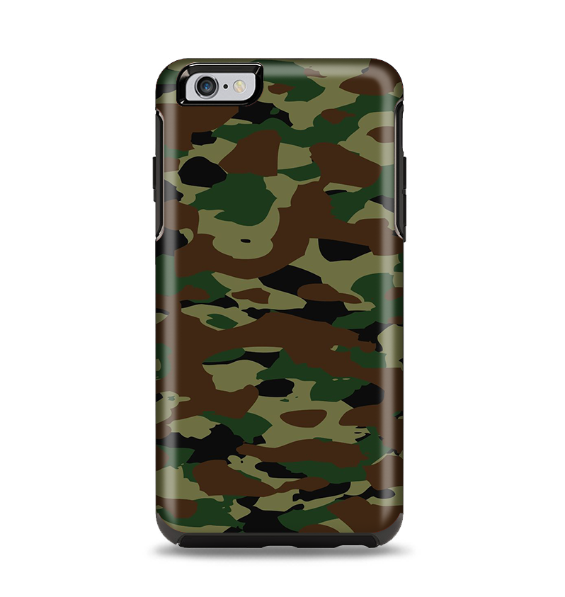 newest 71973 dc133 The Traditional Camouflage Apple iPhone 6 Plus Otterbox Symmetry Case Skin  Set
