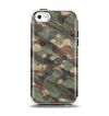 The Traditional Camouflage Fabric Pattern Apple iPhone 5c Otterbox Symmetry Case Skin Set