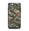 The Traditional Camouflage Fabric Pattern Apple iPhone 6 Otterbox Symmetry Case Skin Set