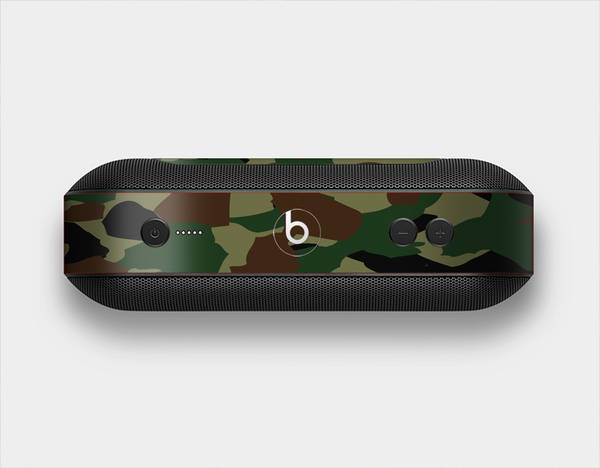 The Traditional Camouflage Skin Set for the Beats Pill Plus