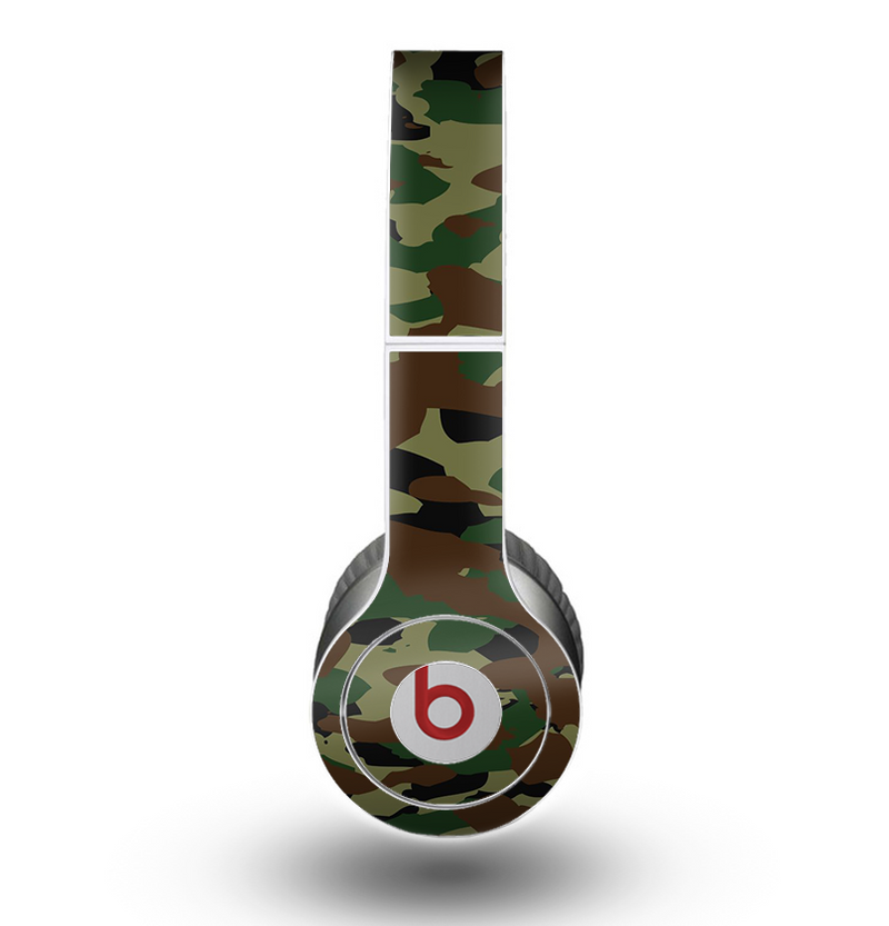 The Traditional Camouflage Skin for the Beats by Dre Original Solo-Solo HD Headphones