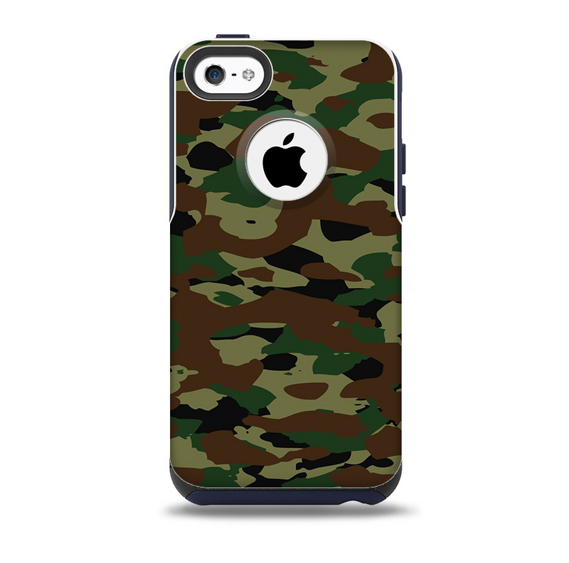 The Traditional Camouflage Skin for the iPhone 5c OtterBox Commuter Case