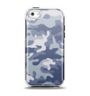 The Traditional Snow Camouflage Apple iPhone 5c Otterbox Symmetry Case Skin Set