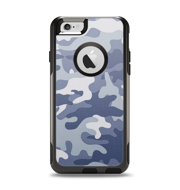 The Traditional Snow Camouflage Apple iPhone 6 Otterbox Commuter Case Skin Set