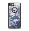 The Traditional Snow Camouflage Apple iPhone 6 Otterbox Defender Case Skin Set