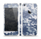 The Traditional Snow Camouflage Skin Set for the Apple iPhone 5