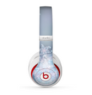 The Translucent Glowing Blue Flowers Skin for the Beats by Dre Studio (2013+ Version) Headphones