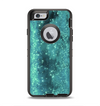 The Trendy Green Space Surface Apple iPhone 6 Otterbox Defender Case Skin Set