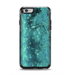 The Trendy Green Space Surface Apple iPhone 6 Otterbox Symmetry Case Skin Set