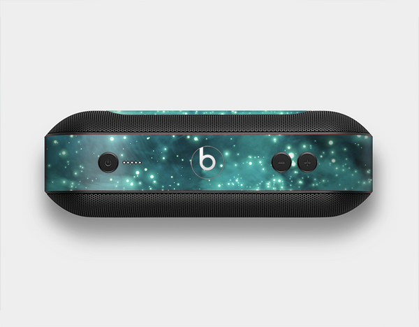 The Trendy Green Space Surface Skin Set for the Beats Pill Plus