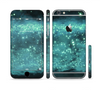 The Trendy Green Space Surface Sectioned Skin Series for the Apple iPhone 6 Plus