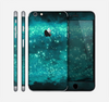 The Trendy Green Space Surface Skin for the Apple iPhone 6 Plus