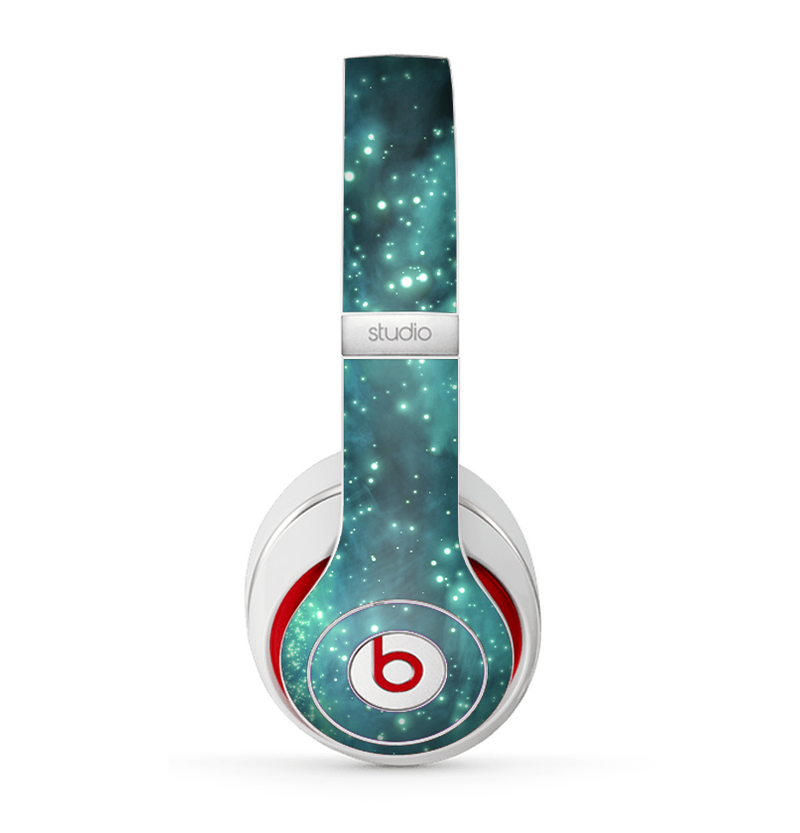 The Trendy Green Space Surface Skin for the Beats by Dre Studio (2013+ Version) Headphones