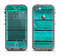 The Trendy Green Washed Wood Planks Apple iPhone 5c LifeProof Nuud Case Skin Set