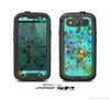 The Trendy Green with Splattered Paint Droplets Skin For The Samsung Galaxy S3 LifeProof Case