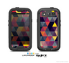 The Triangular Abstract Vibrant Colored Pattern Skin For The Samsung Galaxy S3 LifeProof Case