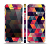 The Triangular Abstract Vibrant Colored Pattern Skin Set for the Apple iPhone 5