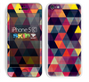 The Triangular Abstract Vibrant Colored Pattern Skin for the Apple iPhone 5c