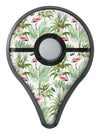 The Tropical Flamingo Jungle Scene Pokémon GO Plus Vinyl Protective Decal Skin Kit
