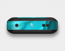 The Turquoise Blue Highlighted Fabric Skin Set for the Beats Pill Plus
