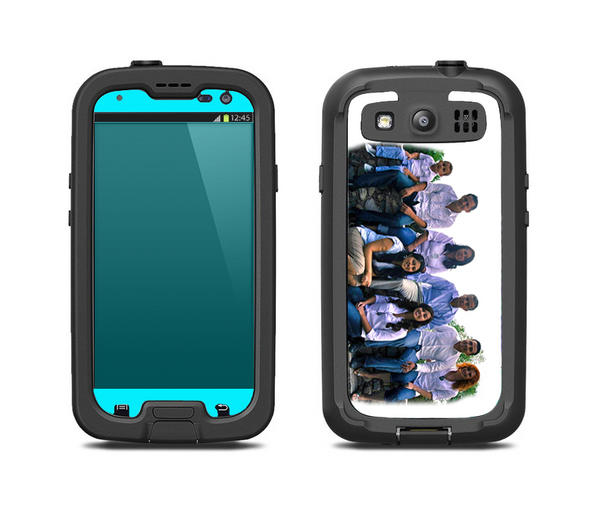 The Custom Add Your Own Image V3 Skin For The Samsung Galaxy S3 LifeProof Case