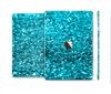 The Turquoise Glimmer Skin Set for the Apple iPad Pro