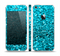 The Turquoise Glimmer Skin Set for the Apple iPhone 5