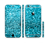 The Turquoise Glimmer Sectioned Skin Series for the Apple iPhone 6