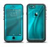 The Turquoise Highlighted Swirl Apple iPhone 6 LifeProof Fre Case Skin Set