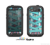 The Turquoise Laced Shoe Skin For The Samsung Galaxy S3 LifeProof Case