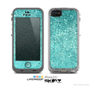 The Turquoise Mosaic Tiled Skin for the Apple iPhone 5c LifeProof Case